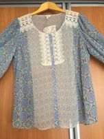 Нежная женская блуза с кружевом, 20 размер, Falmer Heritage, новая