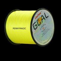 Plecionka 500m 0.20mm 30lb żółta fluo feeder method do metody