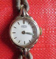 zegarek mechaniczny ROAMER pozłacany swiss made