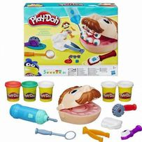 Набор-лепка юного стоматолога «Мистер Зубастик» Play-Doh аналог