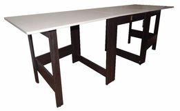 Раскладной стол-книжка трансформер, ширина 70 см., длина 2м.23см.