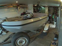 Продам пластиковую лодку Мастер 305 с мотором Mercury F20