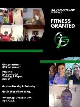LIVE VIDEO FITNESS CLASSES