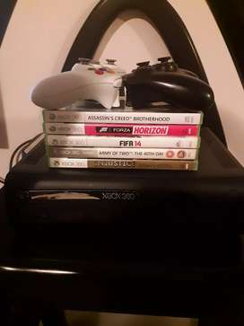 Selling X box 360 or to swop it with a laptop