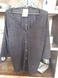 Nowa bluzka Promod, czarna xl