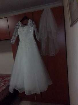 Wedding dress up for hire