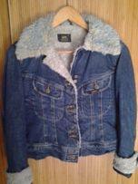 Джинсовая курточка Lee на меху, 34-36 (S)