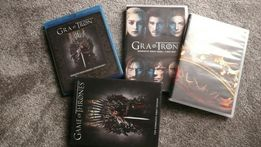 Gra o tron sezon 1,2,3,4,5 sez.1,4,5 blu-ray / polska wersja językowa