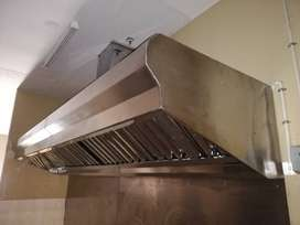 Extractor Canopy Stainless 2.5m