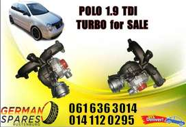 POLO 1.9 TDI TURBO/NEW AND USED PARTS