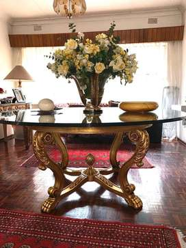 Griffiths and Griffiths entrance table