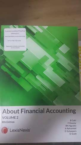 About Financial Accounting, Volume 2, 8th Edition