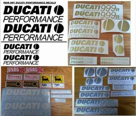Performance / Corse ducati decals stickers kits