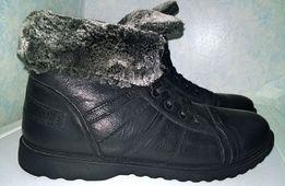 Мужские зимние ботинки, 45 размер, 3000 рублей