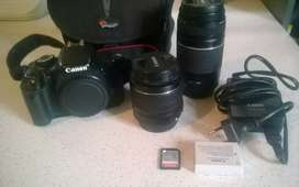 Canon 600D + 2 Lenses Bundle for Sale!