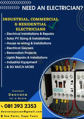 Professional & Skilled Electricians