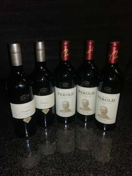 5xKWV red wines-3x Perold Tributum 2013 2x The Mentors Orchestra 2011