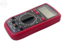 Цифровой мультиметр тестер вольтметр VC61, VC61 с температурой