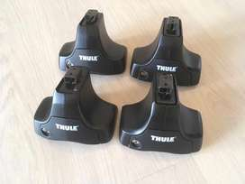 Thule 754 Foot Packs In Excellent Condition