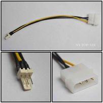 Переходник молекс 4 pin -> 3 pin fan кулер кабель питание cooler molex
