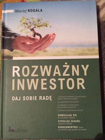 Ksiazka Rozważny inwestor w twardej oprawie Antoniówka - image 1