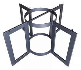 Welder fabricator of metal chairs and furniture