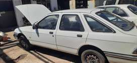 Ford Sierra 2.0 now stripping for spares.