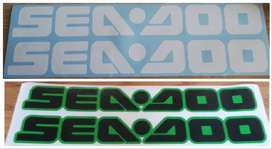 Pair of Seadoo vinyl cut decals stickers graphics