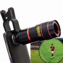 Универсальный объектив 8х для телефона смартфона телескоп