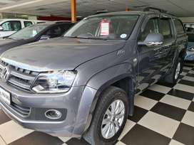 `2014 VW Amarok 2.0 Bi/Tdi Highline-4 Motion-4x4-Doublecab-R299900