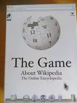 Brand new, unopened WIKIPEDIA The Game About Everything