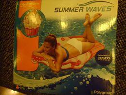 Duży Materac plażowy dmuchany Summer Waves Lód