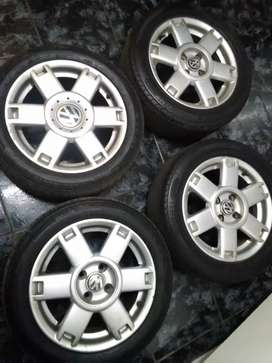 15inch VW Velociti mags and tyres for sale ONLY
