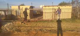 4 room house at Motshabi it can also be used for rentals,