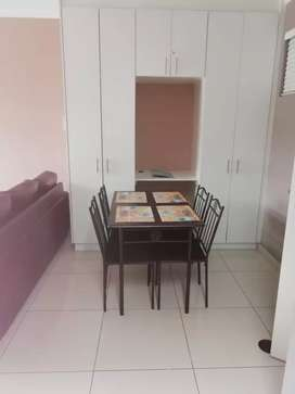 1 bedroom fully furnished flat available immediately.