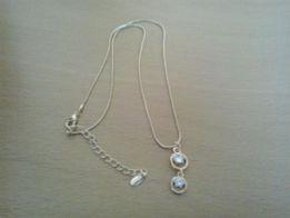Naszyjnik z kryształkami Swarovski nowy