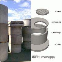 Бетонные кольца (продажа, изготовленные)