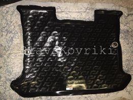 Ковёр в багажник Fiat Doblo 2001-2015 коврик Фиат Добло