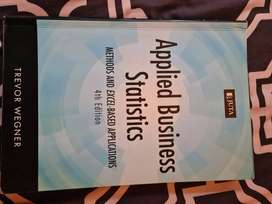 2nd hand Applied Business Statistics study book