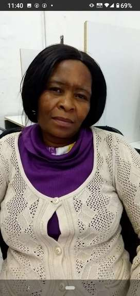 Lesotho maid and nanny with 20 yrs exp needs stay in work urgently
