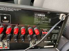 Yamaha RX-V673 amp and sound system for sale