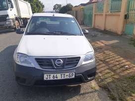 Nissan NP200 1.6 model 2018 white in colour, we do finance an cash