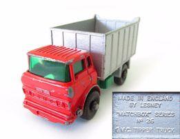MATCHBOX модель Матчбокс №26 Regular GMC Tipper Truck самосвал 1968 г.