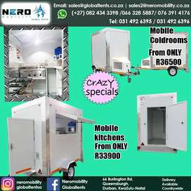 Crazy Specials on our Mobile Coldrooms