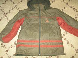 Зимняя куртка на мальчика 134-140 см