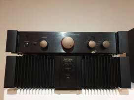 Rotel rmb 1066 + Rotel 1070 amplifier system.