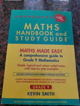 Maths Handbook and Study Guide Grade 9 Kevin Smith (Caps)