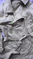 soczyście zielony płaszcz 46 C&A Yessica