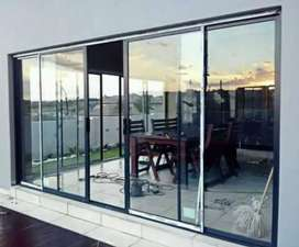 Renovation and construction also glass and Aluminium