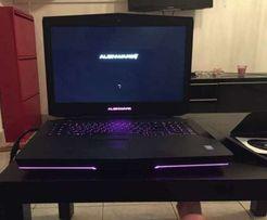 """Alienware 18"""" 4900MQ/ SLI 780m / SSD / 32gb"""